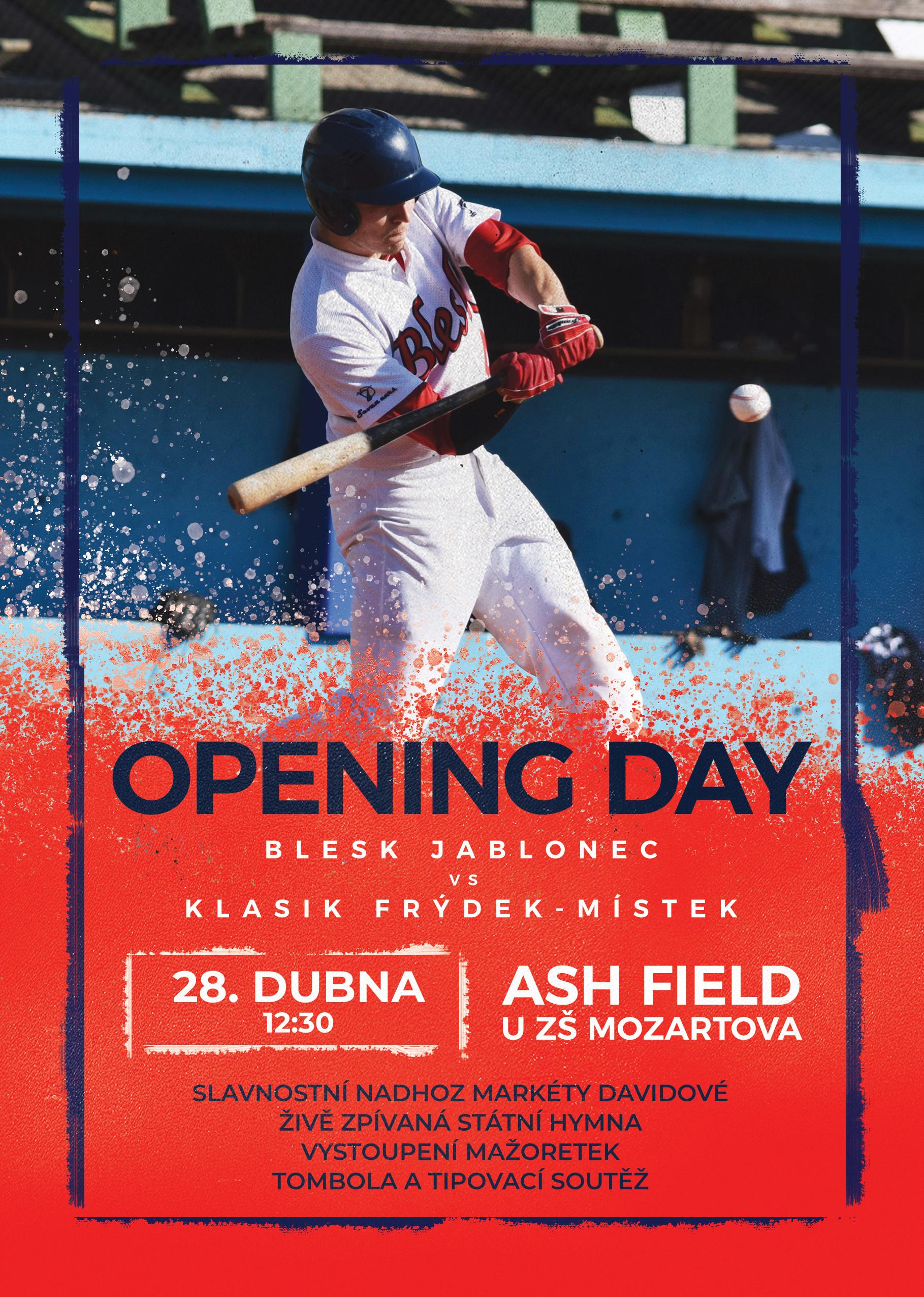 Opening Day - Baseball Blesk
