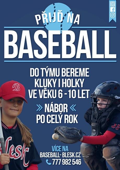 Nábor Baseball Blesk 2016